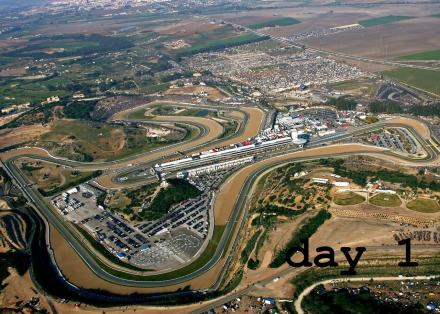 Jerez circuit - day 1