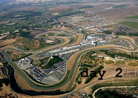 Jerez circuit - day 2